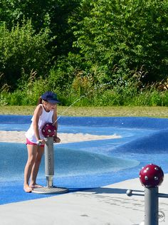 Splash Pump with Mushroom Head 001 Playground Design, Outdoor Playground, Children Playground, Beach Games, Water Play, Water Supply, Play Houses, Water Features, Toy Story