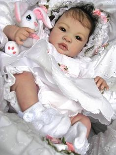 "Reborn Baby Doll Gorgeous ""Kendall"" Shyann by Aleina Peterson ~ Bb Reborn, Reborn Toddler Dolls, Silicone Reborn Babies, Silicone Baby Dolls, Newborn Baby Dolls, Reborn Baby Girl, Reborn Dolls, Baby Dolls For Sale, Life Like Baby Dolls"