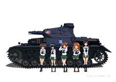Full size girls und panzer picture (Caswell Nash-Williams 4070x2885)