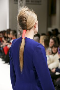 Judy Wu #AW15. Hair by the TONI&GUY Session Team #AW15