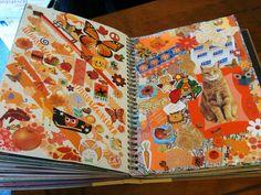 Orange Smash Book Page | Flickr - Photo Sharing!