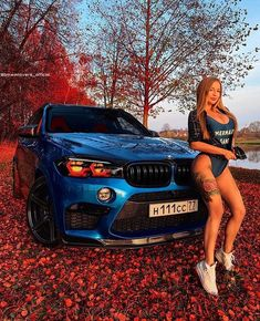 Blue bmw with hot girl Bmw X5 M, Bmw M3, Bmw 328i, Sexy Cars, Hot Cars, Woman In Car, Carros Audi, Bmw Girl, Bmw Wallpapers