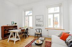 32 square meters apartment