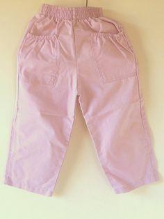 03b2175c Orchid Healthtex Pants for Girls, Vintage 1980's Pinkish Purple Pants, Size  3T