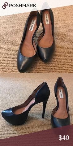 ⭐️SALE- Steve Madden Black Pumps Black classic Steve Madden pumps. UNWORN! Steve Madden Shoes Heels