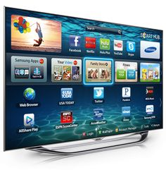 Samsung Smart TV.  Crazy what they're doing now.  It's going to be all about the TVs in 2013.  Apple TV?