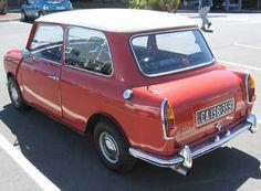 Classic Cars British, Classic Mini, Red Mini Cooper, Microcar, Mini S, Commercial Vehicle, Transportation Design, Old Cars, Motor Car