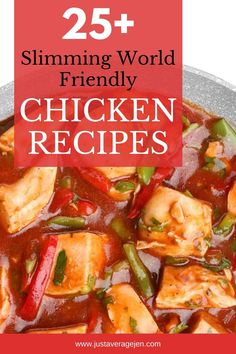 Healthy Eating Recipes, Meal Recipes, Curry Recipes, Healthy Cooking, Healthy Meals, Slimming World Chicken Dishes, Easy Slimming World Recipes, Yummy Chicken Recipes, Yum Yum Chicken