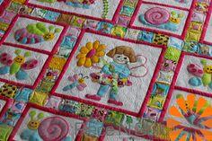 Piece N Quilt: Baby Girl Quilt