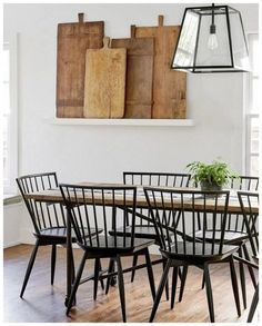 53+ Cool Farmhouse Dining Room Decor Ideas » Educabit