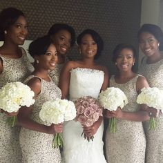 Stunning Bridesmaids Outfits For Your Big Day! – Wedding Digest Naija