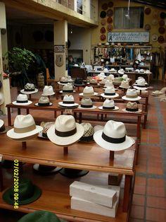 Panama hats in Cuenca, Ecuador www.retire-in-ecuador.com
