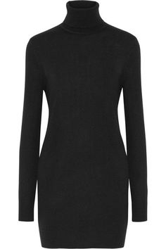 Black cashmere Slips on 100% cashmere Dry clean ImportedSmall to size. See Size & Fit notes.