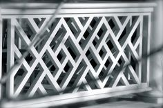 Chinese Chippendale Railing - Diamond traditional
