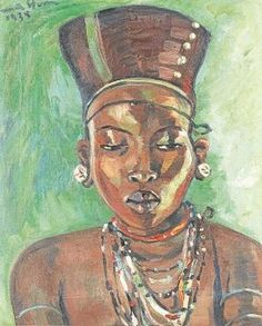 SOUTH African art dominated the London Bonhams Auction House last week.