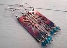 Summer Flower Earrings by Lost Sparrow Jewelry