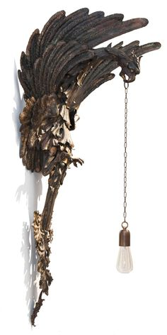 Neo-Gothic Sconce | From a unique collection of antique and modern wall lights and sconces at https://www.1stdibs.com/furniture/lighting/sconces-wall-lights/