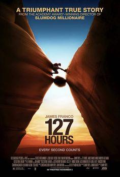 127 Hours, de Danny Boyle (2011) | Un huis clos incarné par un acteur remarquable, qui nous livre une belle leçon de survie.