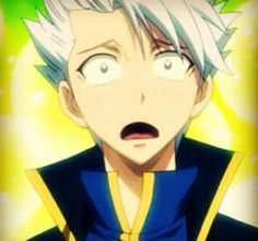 Cutest picture of Lyon ever!!! His face when Juvia told him that it's fine to call her just by her name ><
