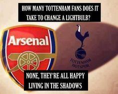 Tottenham < Arsenal