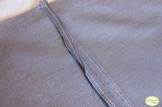 the straight stitch seam finish from the vintage singer guide