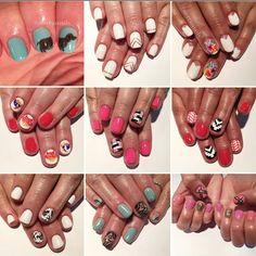 #handpainted #nailart by Sierra #nails #utahnails #oremnails #fullset #acrylic #gel #blmanimonday #repost #creativenails #youngnails #gellish #utahbeautyblog #expanding #wearegrowing #comegetpampered #morestationscomingsoon #joinourteam #Padgram