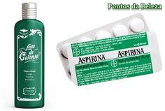 Leite de Côlonia+ Aspirina = Seca espinhas Tira manchas e acaba com Cravos!