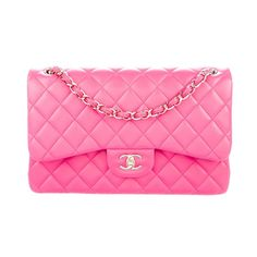 0243bf0db4a CHANEL Handbags - Auth⚜️Chanel⚜️Classic Jumbo Double Flap Bag💕Pink Chanel  Classic