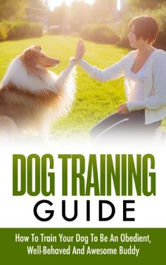 Dog Training Guide - How To Train Your Dog To Be An Obedient, Well-Behaved And Awesome Buddy (Dog Training, How To Train Your Dog)