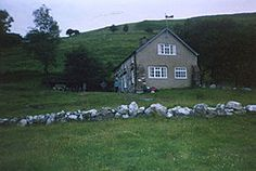 Led Zeppelin - Bron-Yr-Aur Cottage ner Machynlleth in South Snowdownia, Wales