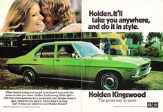 https://flic.kr/p/f7PKST   1973 HQ Holden Kingswood Sedan 2 Page Aussie Original Magazine Advertisemet