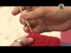 Tudo Artesanal   Almofada de Crochê por Marcelo Nunes - YouTube