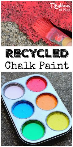 Making recycled chal