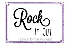Get wild and show off the rocker side of your fashion!