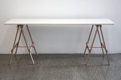 Union Ply - desk - from www.trestleunion.co.nz $180 top, $85 legs.