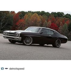 """Mast Motorsports on Instagram: """"Repost @detroitspeed ・・・ Here it is. Moe\'s just completed @detroitspeed 1970 #Chevelle.  Thank you to all our partners in the project.…"""""""