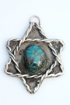 Vintage Navajo Hand Wrought Sterling Silver & by Yourgreatfinds