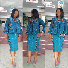 African print top and Short Skirt Ankara dress Ankara Latest African Fashion Dresses, African Dresses For Women, African Print Dresses, African Print Fashion, Africa Fashion, African Attire, African Women Fashion, African Prints, Ankara Mode