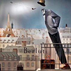 "BERLUTI, Paris, France, ""Flying Away over the City of Love!"", pinned by Ton van der Veer"