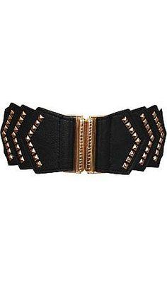 Deco Belt, Black $26 www.shopbluedoor.com