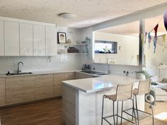 White Ikea Kitchen, Ikea Kitchen Design, Ikea Kitchen Cabinets, Kitchen Interior, My Kitchen Rules, New Kitchen, Cabinet Fronts, Gray Interior, Scandinavian Interior