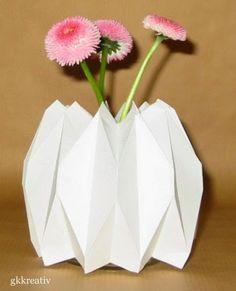 gkkreativ: Origami Vase