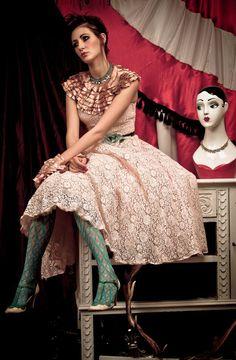 Dirty Fabulous vintage dress