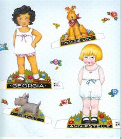 Mary Engelbreit Paper Doll