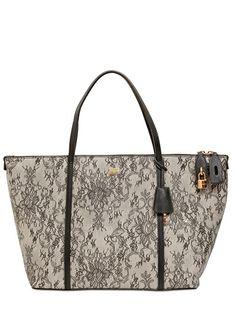 Dolce & Gabbana Medium Escape Dauphine Leather Tote on shopstyle.co.uk
