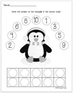 Penguin Number Ordering