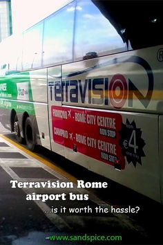 Though our experiences were positive, the Rome airport service has seriously deteriorated *** Do not buy Terravision bus tickets in advance *** Rome City Centre, Rome Airport, Bus Tickets, Taxi, Positivity, Pictures, Photography, Travel, Photos