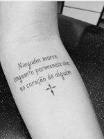 Tatuagens de Frases