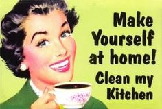 Make yourself at home! Clean my kitchen photo by sweetie259pie | Photobucket
