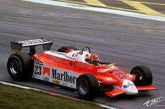 1980 GP Austria (Bruno Giacomelli) Alfa Romeo 179